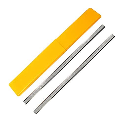 320x12x1,5 mm Cuchillos de cepillado para Triton TPT125 DELTA 22-560 TP400LS Craftsman 21758 Wen 6550 12,5 pulgadas 2 piezas, como se muestra