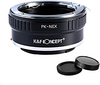 K&F Concept Adapter for Pentax K Mount Lens to Sony E a6000 a6300 a6500 a5000 a5100 a3500 a3000 Alpha A7 A7R a7S a7II a7RII a7SII a7III a7RIII and a9