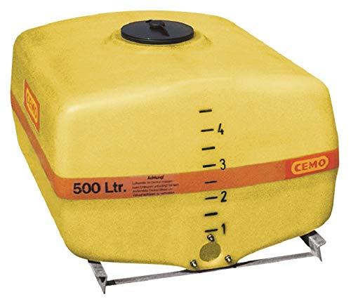 Cemo GFK-Tank kofferförmig 300 Liter 13.500 Liter mit Schwallwänden