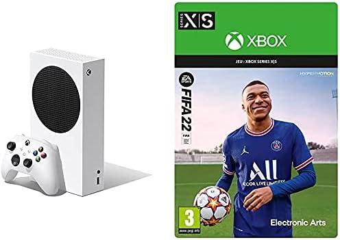 Xbox Series S + FIFA 22: Standard – Code jeu à télécharger