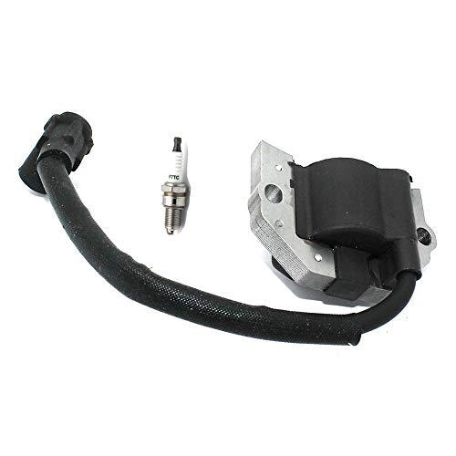 Accesorios Para Cortacéspedes Con la bobina de encendido Bujía F7TC Compatible con piezas del motor Kawasaki # 21171-0745 21171-0742 21171-0713 52005-2139 21171-7049 Accesorios para herramientas de ja