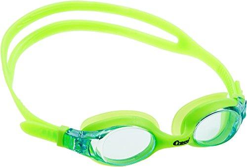 Cressi Kinder Dolphin 2.0 Premium Schwimmbrille, Grun/Hellblau, Einheitsgröße