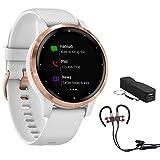 Garmin Vivoactive 4S Smartwatch (010-02172-21) with Wireless Sport Earbuds & More