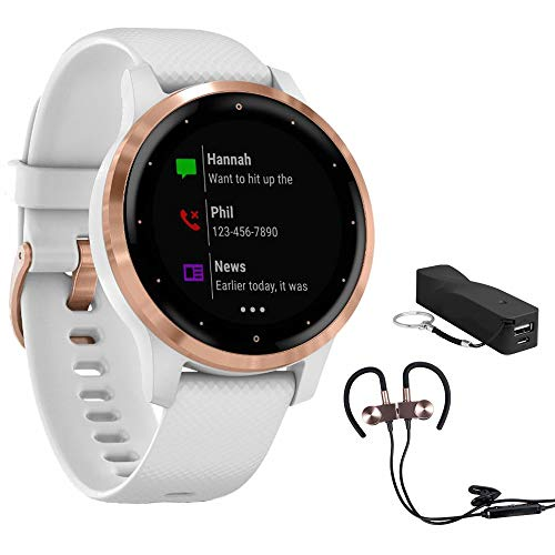 Why Should You Buy Garmin Vivoactive 4S Smartwatch (010-02172-21) with Wireless Sport Earbuds & More