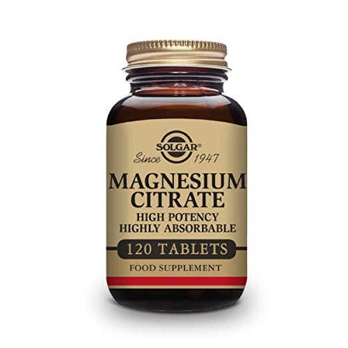 Solgar Magnesium Citrate (Citrato de Magnesio) - 120 caps.