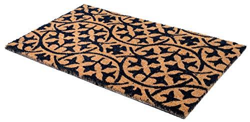 FAB HAB Blue Tile Fußmatten 46 cm x 76 cm, Non-Slip, Durable