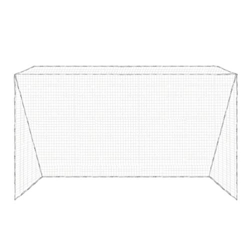 Aoneky Hockey Net Replacement 12' x 7' - Replacement Official Outdoor Field Hockey Goal Practice Netting