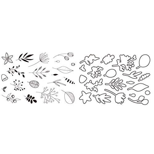 MHTEAAIIO Mots fran/çais Transparent Clear Silicone Stamp//Seal pour Scrapbooking DIY//Album Photo Feuilles de Timbre Clair d/écoratif M1230