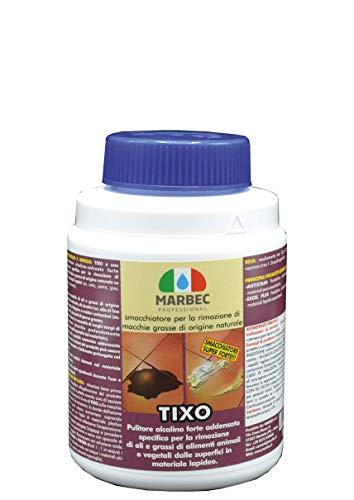 Marbec - TIXO 1KG | Smacchiatore per la rimozione di Olio e Grasso di Origine Animale e/o vegetale da Pavimenti e Rivestimenti