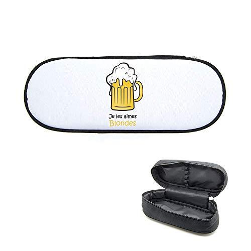 Federmäppchen, bedruckt, Bier Blonde