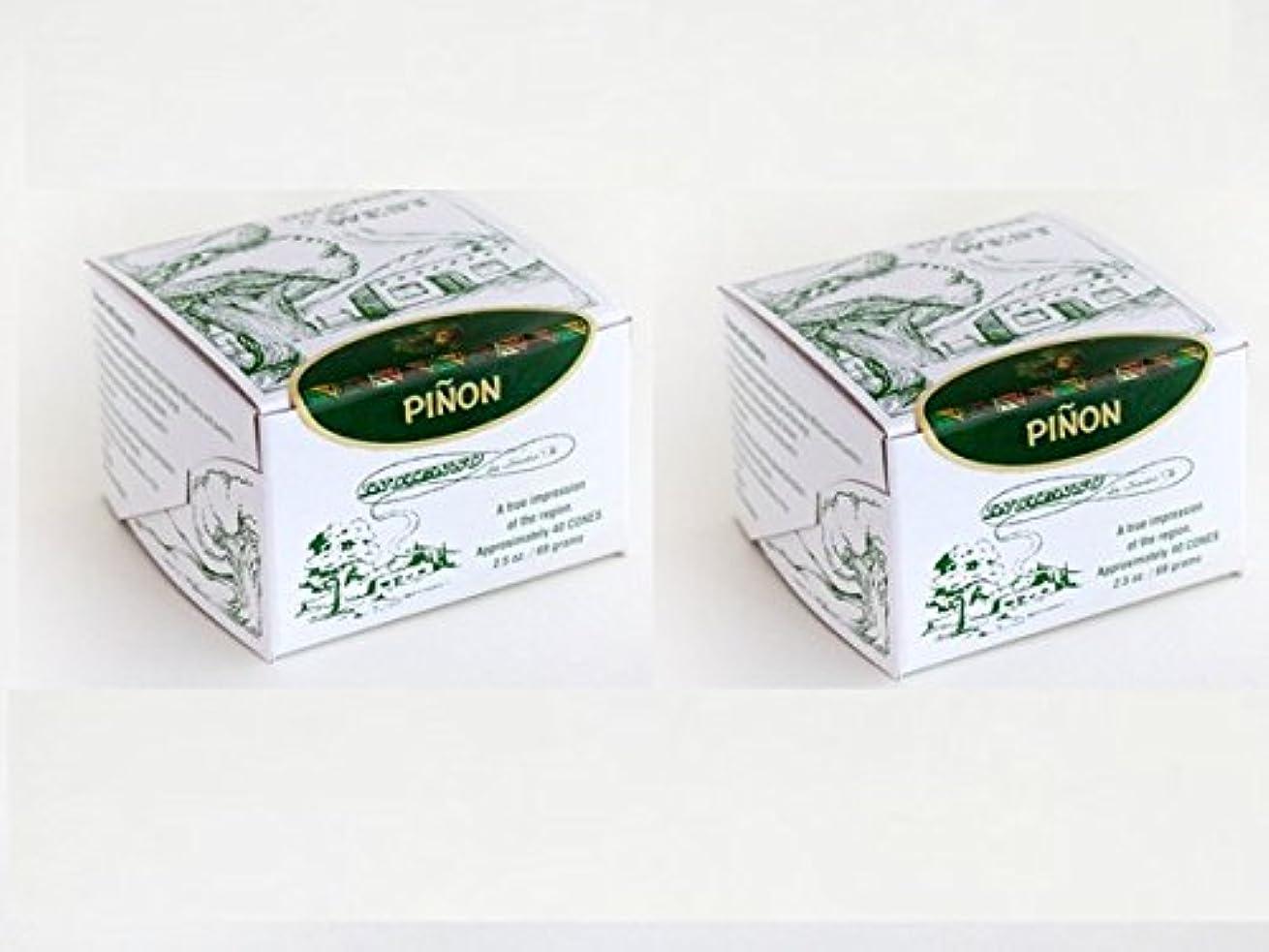 高層ビル取り替える困難(80 Pack) - Pinon Incense Box with 80 Bricks