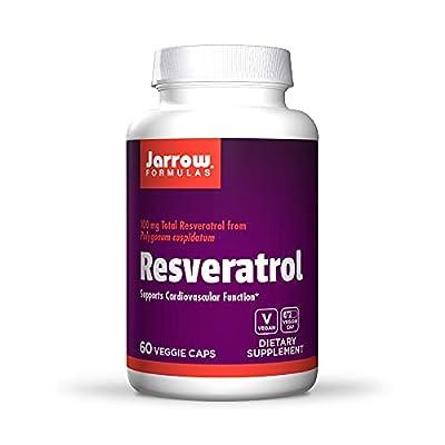 Jarrow Resveratrol (100mg, 60 Vegan Capsules) by Jarrow FORMULAS