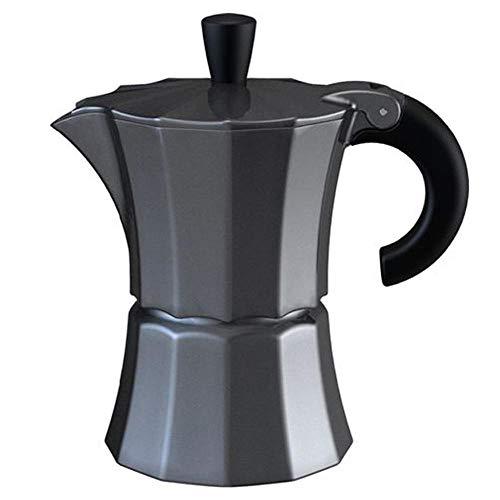 Gnali & Zani MOR002/COL Morosina Coffee maker 3 Tassen dunkelgrau Kaffeebereiter, Aluminium-Kunststoff