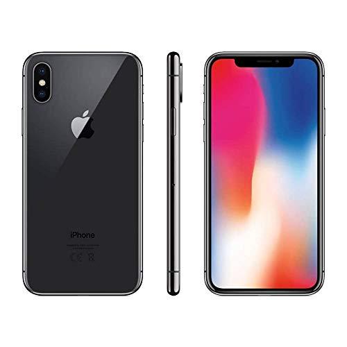 Apple iPhone X 256GB - Space Grau (Generalüberholt)