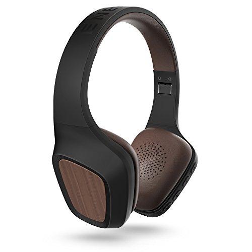 Energy Sistem Headphones 7 - Auriculares con Bluetooth (con tecnología ANC, Sistema de rotación de 15 Grados, micrófono Integrado, hasta 100 Horas de autonomía) Color Negro y marrón