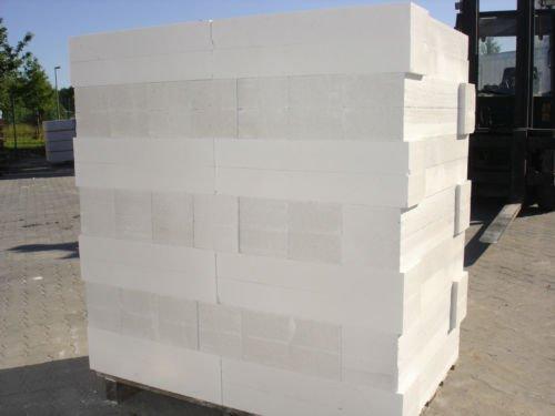 Porenbeton Plansteine Gasbeton in 11,5cm Breite, Palettenpreis, frei Haus geliefert (weiß)
