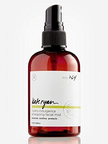 Hydro-Indulgence Energizing Facial Mist - Hydrating and Balancing Toner for Face - Anti-Aging with Rose Water, Witch Hazel, Green Tea, Alpha Lipoic Acid, DMAE, CoQ10, Gotu Kola, Aloe Vera, Lavender