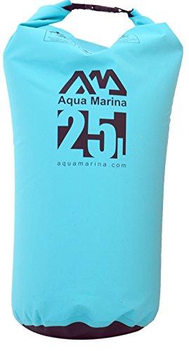 Aqua Marina super Easy Bolsa Seca Impermeables Mochila Bolsillo Bolso marinero Bolsa Kayak Canoa 25l - Azul