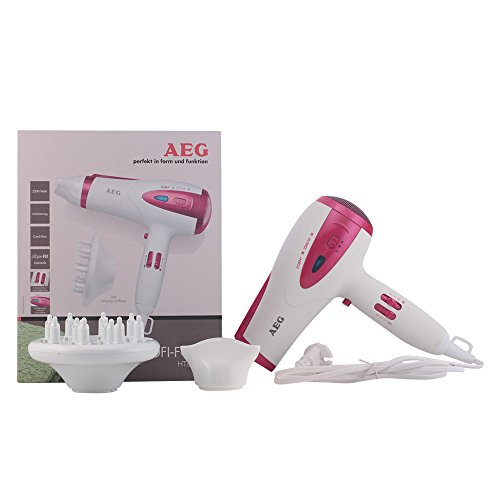 AEG HTD 5584 weiß-pink Profi-Foen
