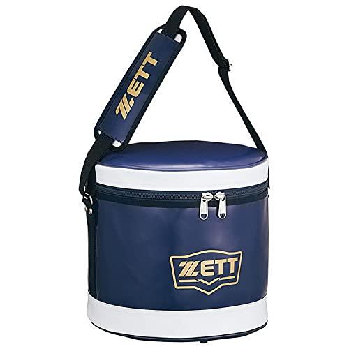 ZETT(ゼット) 野球 ボールケース ネイビー/ホワイト BA255