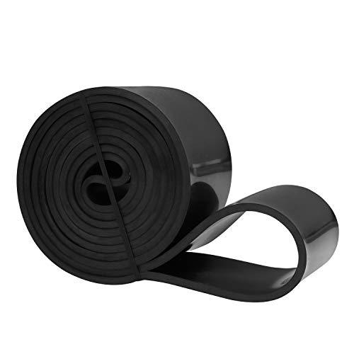 Amazon Brand - Umi -Banda Elástica de Resistencia Cuerda de Fuerza para Fitness, Crossfit, Pilates, Estiramientos,Dominadas (5 - Ultra Strong (Negro))