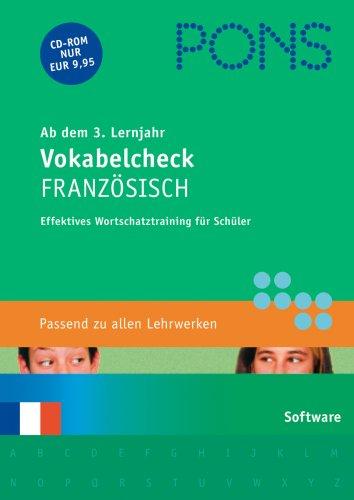 PONS Vokabelcheck Französisch 3./4. Lernjahr [import allemand]