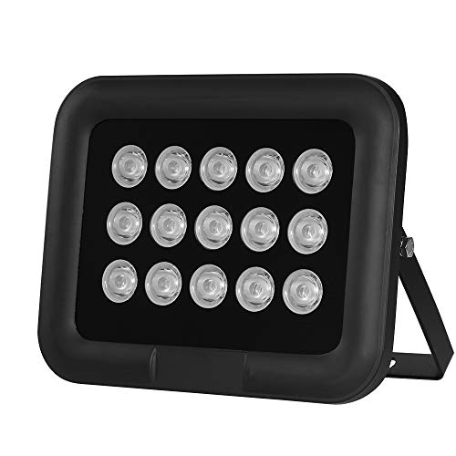 OWSOO Infrarot Illuminator 6pcs Array IR LED IR Illuminator Nachtsicht Weitwinkel Long Range Outdoor wasserdicht für CCTV Überwachungskamera, 15pcs
