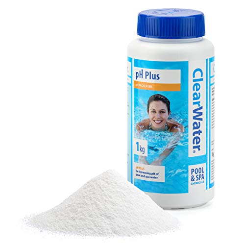 Clearwater CH0005 PH Plus Increaser for Swimming Pool and Spa Treatment