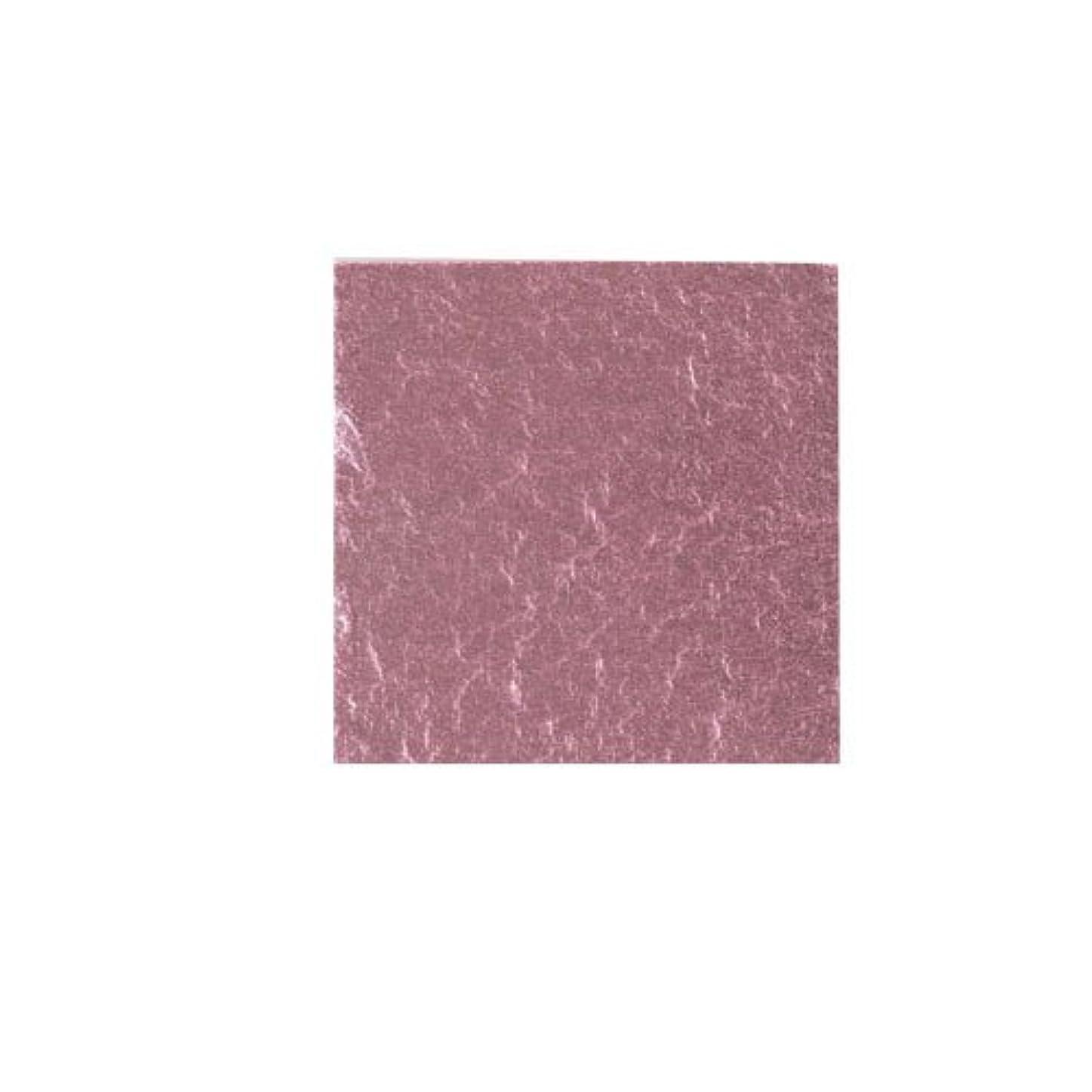 プレフィックスドライ役職ピカエース ネイル用パウダー カラー純銀箔 #609 桜色 3.5㎜角×5枚