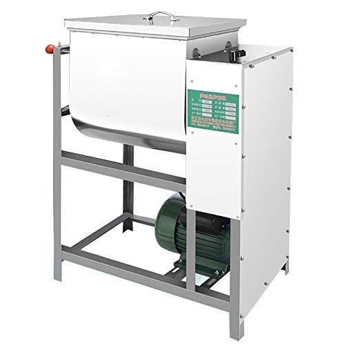 QWERTOUY 1 stuks Commercial deeg 5 kg mengapparaat meel roerwerk pastamachine 5 kg capaciteit kneedmassa 2200 W