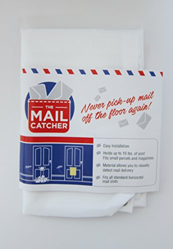 Die Mail Catcher: Nie wieder Pick-Up Mail Off The Floor. Buchstabe Catcher Tasche für Front Türen Garage Slot Post Box Korb Sack Mailbag Slots