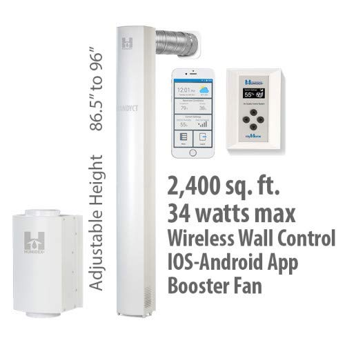 Find Discount 96 Wireless Unit with Mobile App Option + Wireless Control + Booster, System Air Extr...