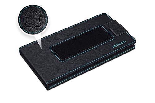 Hülle für Asus ZenFone AR Tasche Cover Hülle Bumper | Schwarz Leder | Testsieger