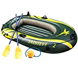 Best Ocean Kayak River Kayaks - WASAKKY 2 Person Inflatable Boat - Thicken Raft Review