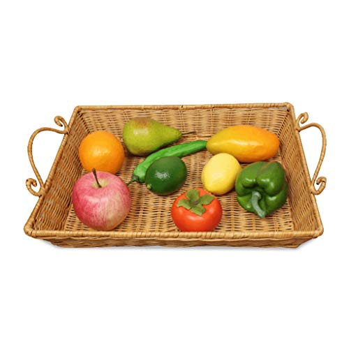 MWG Articles ménagers Panier à Fruits en métal évider la Cuisine Vidange à légumes Panier à Linge Panier à Eau