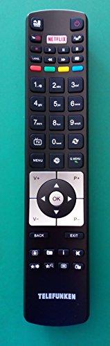 Telecomando originale Telefunken per Tv modello EXPTE43B35Z2KSAT, TE43282B35Z2K, TE50282B34C2K, TE55292S26Y2P