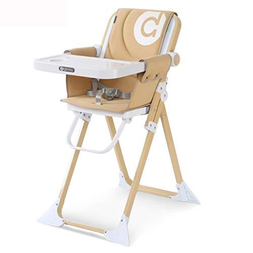 DYW-Booster Seat Asiento Elevador de Viaje Ajustable Silla de Comedor para niños...