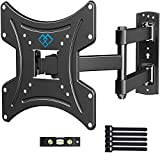 PERLESMITH Full Motion TV Wall Mount Bracket with Swivels Tilts & Extends - for 13-42 Inch Flat...
