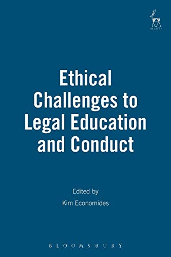 Compare Textbook Prices for Ethical Challenges to Legal Education and Conduct  ISBN 9781901362114 by Economides, Kim