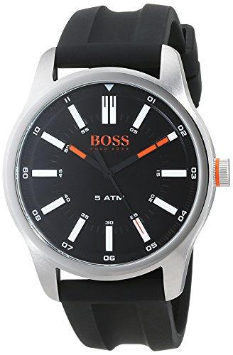 Hugo Boss Orange Herren-Armbanduhr Quartz mit Silikon Armband 1550042