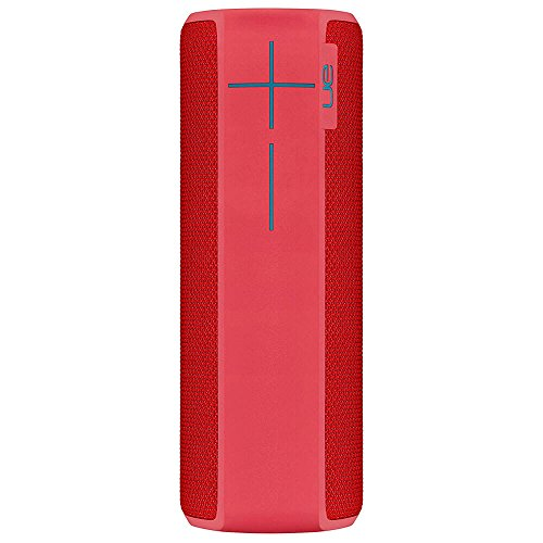 Ultimate Ears Boom 2 Cherry Bomb Wireless Mobile Bluetooth Speaker Waterproof and Shockproof (Renewed)