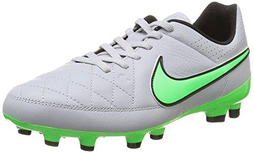 Nike Stollenschuh hellgrau/grün EU 36 (US 4Y)
