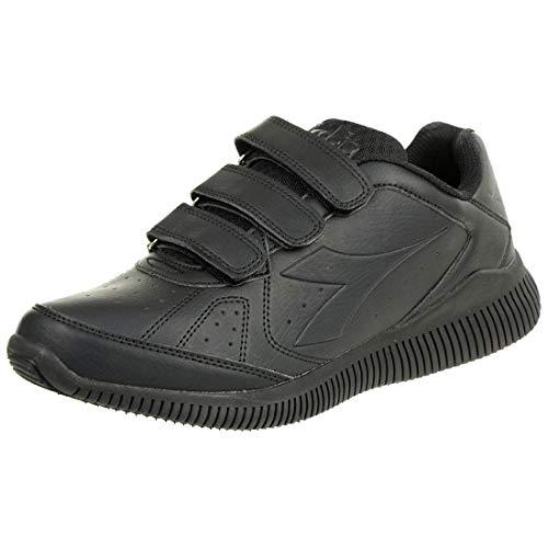 Diadora Eagle 2 SL V 101174900 Sneaker Unisex Uomo Donna (41 EU, C0200 Black/Black)
