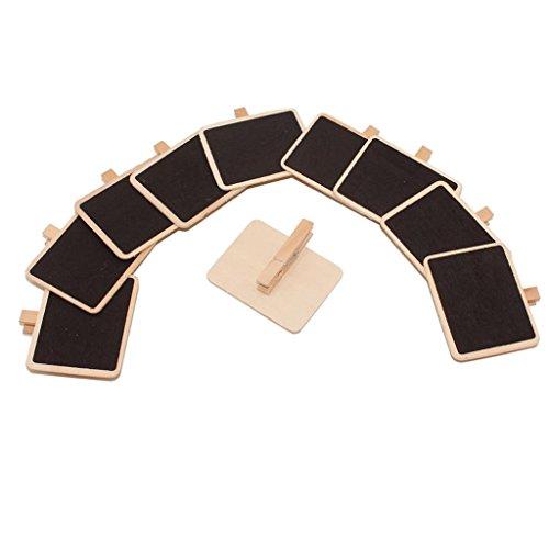 10 stk. Preisauszeichnung Preisschilder Kreidetafel Namenschild Mini Tafel