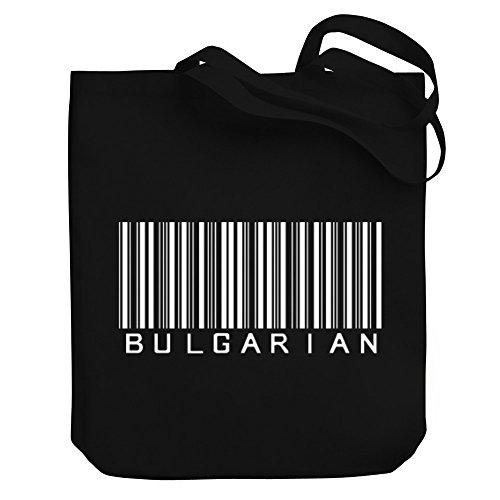 Teeburon Bulgarian Barcode Bolsa de Lona