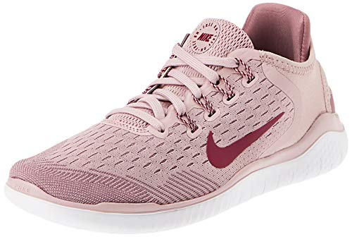 Nike Womens nike free rn 2018 Low Top Lace Up Fashion, Plum chalk, Size 6.0