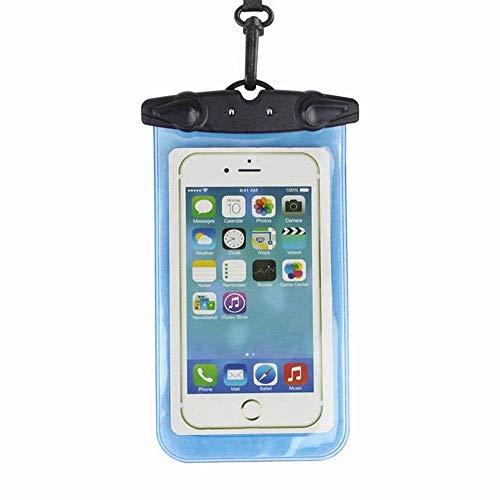 LASTARTS Funda impermeable for teléfono móvil de PVC Funda impermeable for teléfono móvil Funda protectora resistente al agua de 6 pulgadas Funda impermeable for teléfono móvil Funda for teléfono Fund