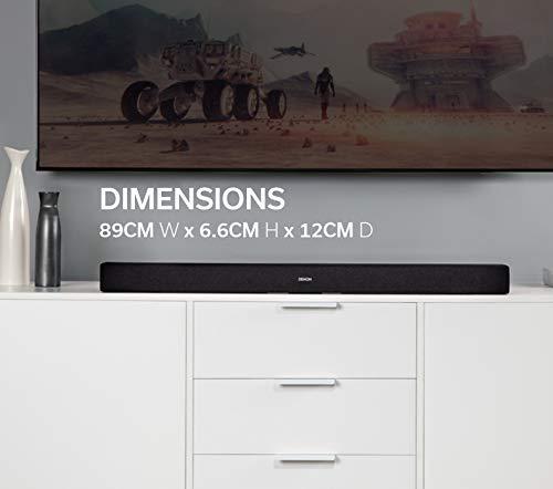 Denon DHT-S216 - Barra de Sonido con DTS Virtual:X y Bluetooth