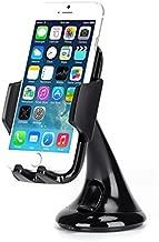 Premium Car Mount Dash Windshield Glass Holder Dock for iPhone 6 6S Plus, 5S 5C SE - Samsung Galaxy S7, S6, Edge, Edge+, S5, S4, S3, Galaxy Note 5 4 3 2 - LG G2 G3 G4 G5 V10 - Motorola Droid Turbo 2