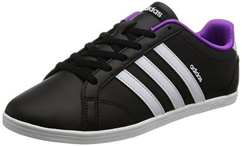 adidas Damen Vs Coneo Qt W Gymnastikschuhe, Schwarz (NEGBAS/FTWBLA/PLAMAT 000), 38 2/3 EU